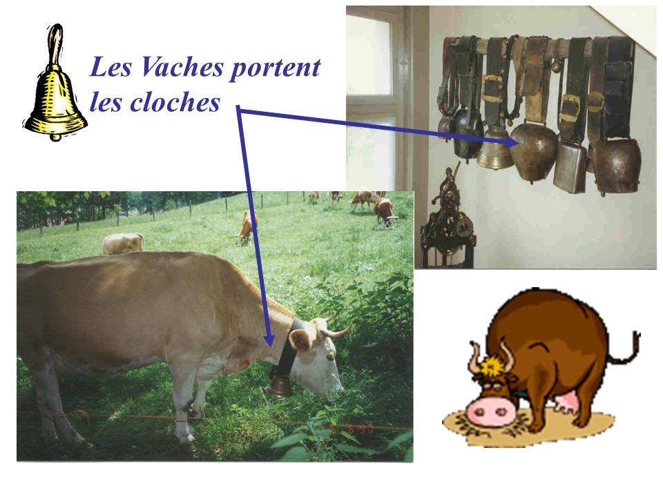 Les Vaches portent les cloches