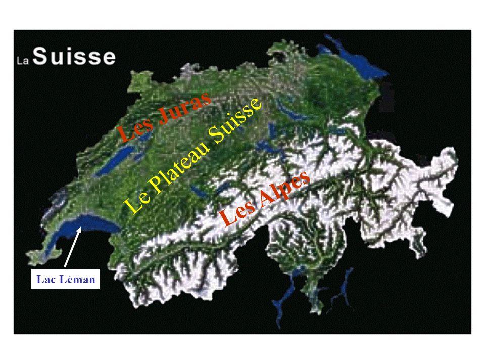 Les Juras Les Alpes Le Plateau Suisse Lac Léman