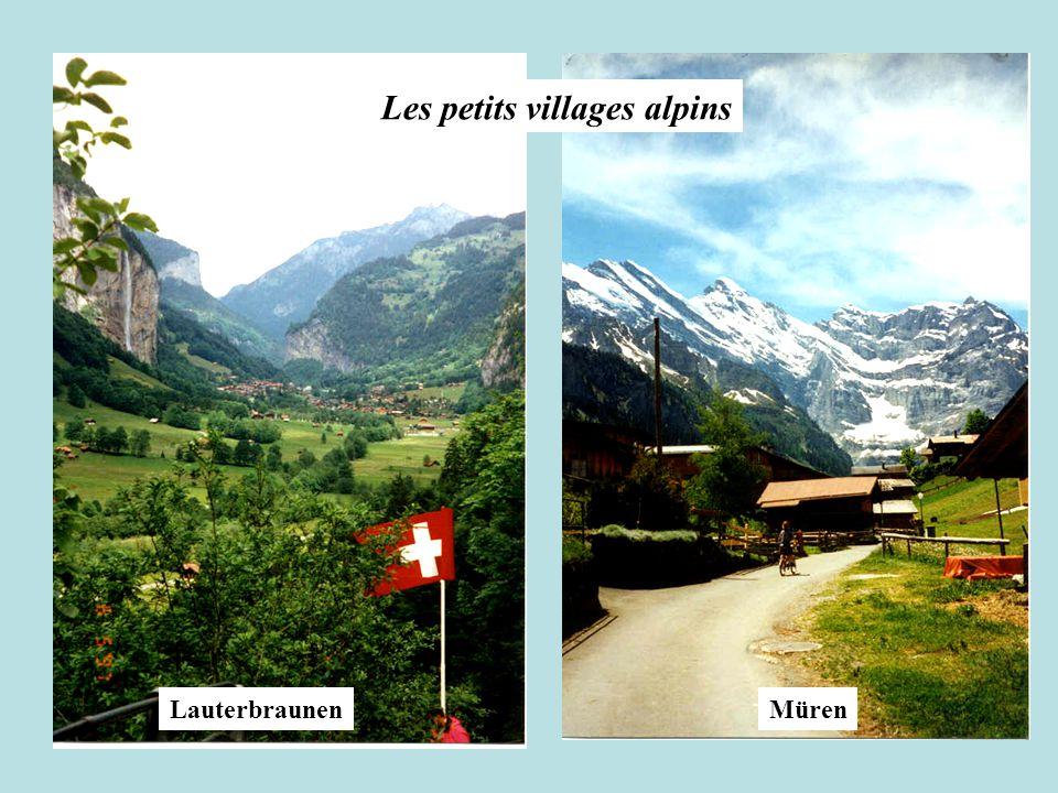 LauterbraunenMüren Les petits villages alpins