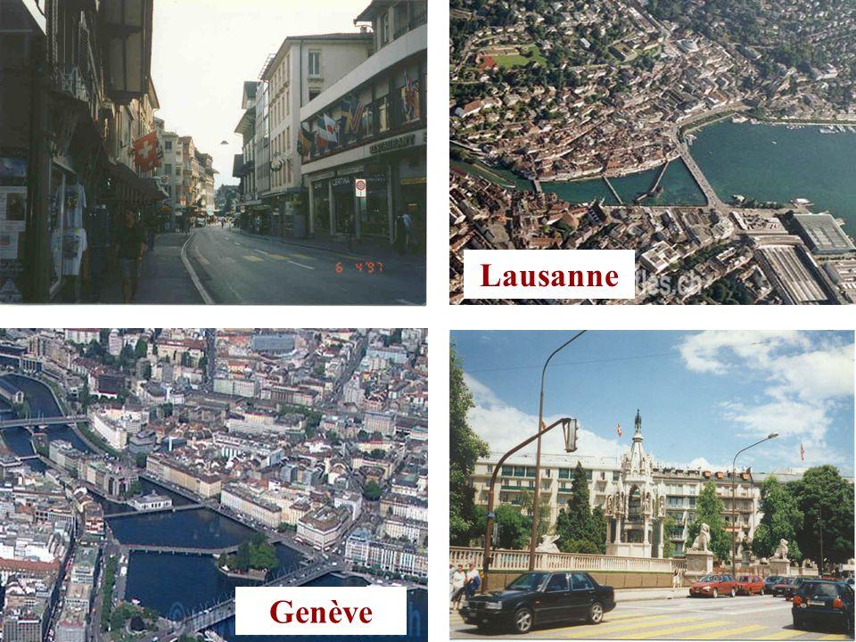 Genève Lausanne