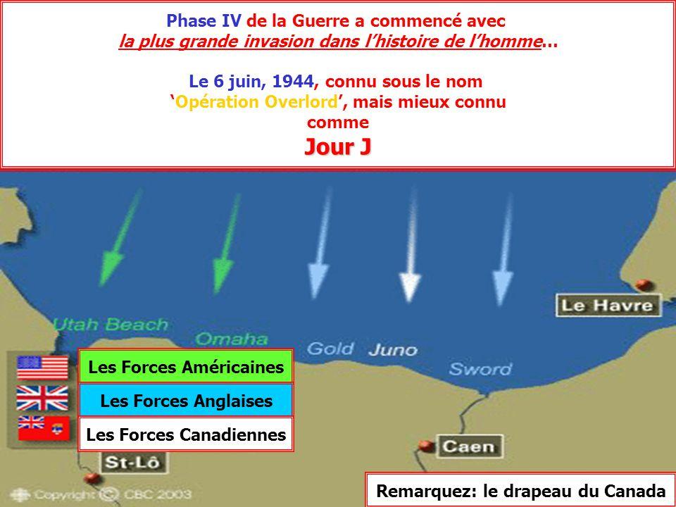 Phase IV Phase IV de la Guerre a commencé avec la plus grande invasion dans l'histoire de l'homme… Le 6 juin, 1944, connu sous le nom 'Opération Overl