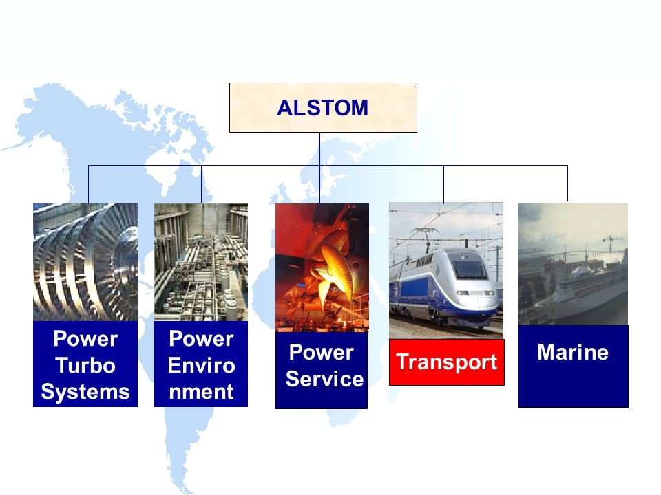 Power Turbo Systems ALSTOM Transport MarinePower Service Power Enviro nment