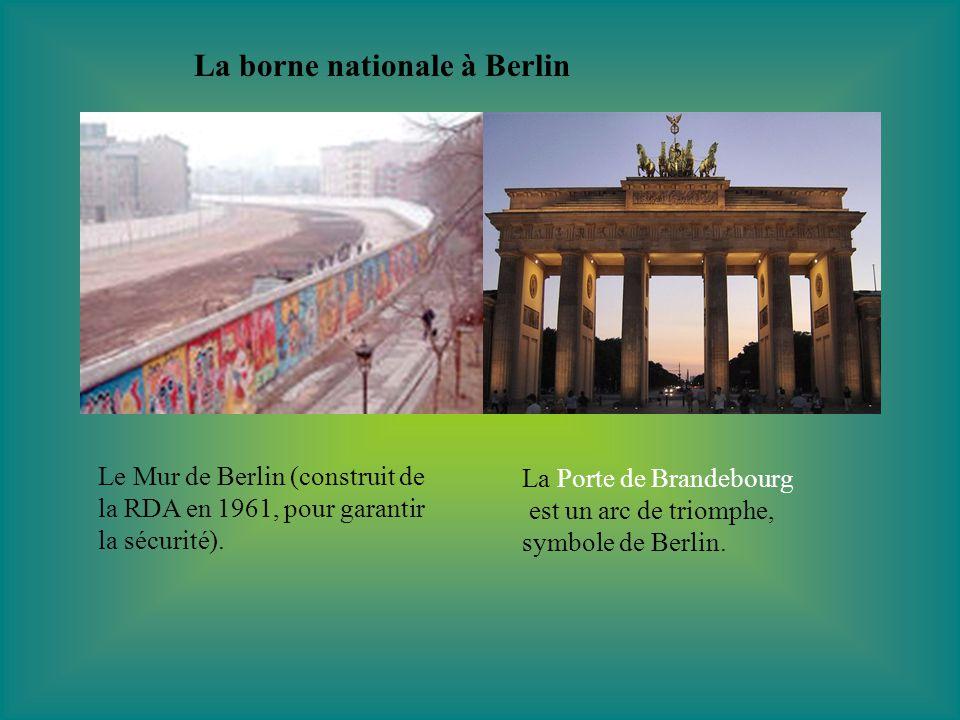 Dates importantes Superficie: 357.050 km² Population: 82.460.000 habitants Langue officielle: allemand Président: Horst Köhler Chancellier fédéral: Angela Merkel