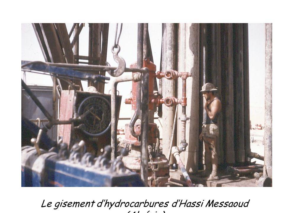 Le gisement d'hydrocarbures d'Hassi Messaoud (Algérie)