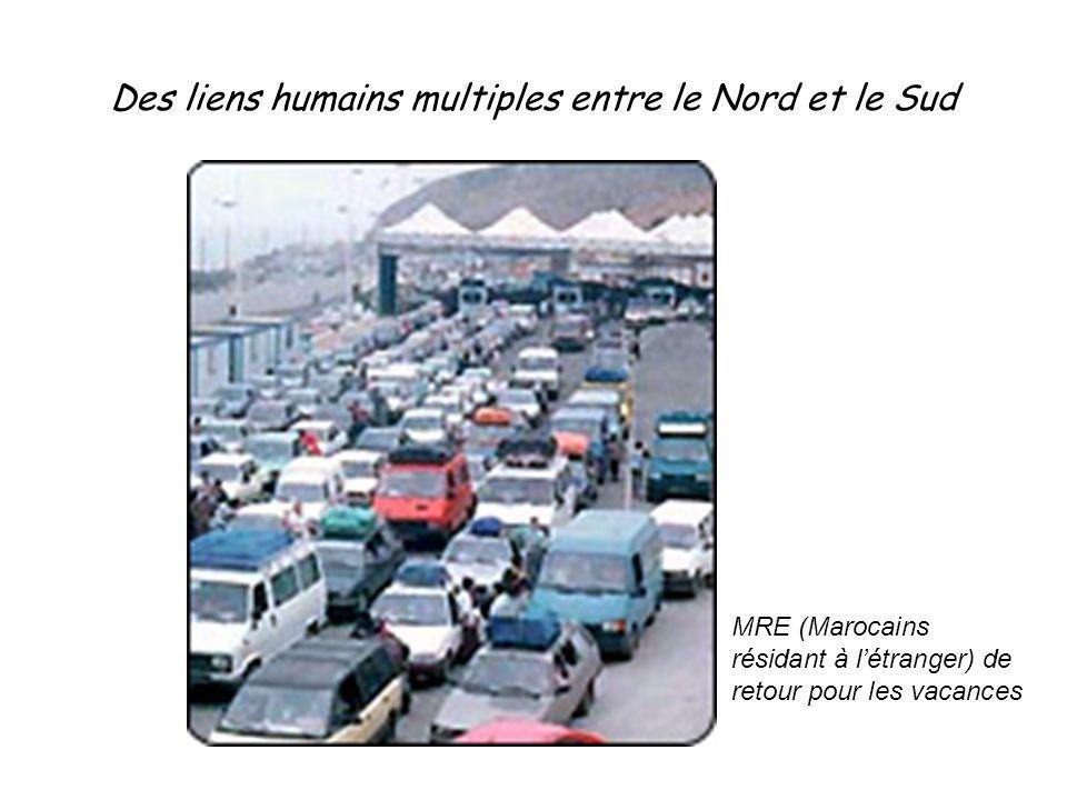 Des liens humains multiples entre le Nord et le Sud MRE (Marocains résidant à l'étranger) de retour pour les vacances