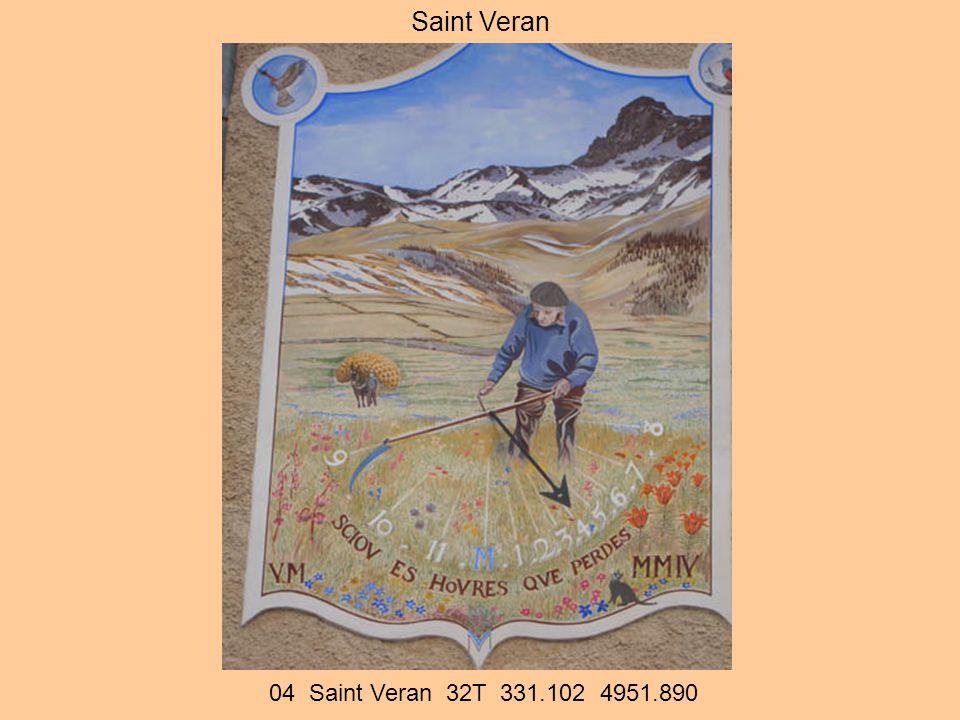 04 Saint Veran 32T 331.102 4951.890 Saint Veran