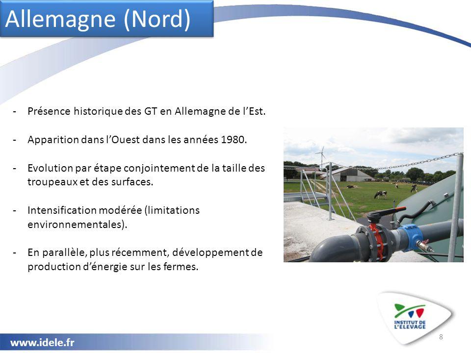 www.idele.fr Prix du lait : Des primes liées au volume en Allemagne, Grande-Bretagne, République Tchèque et USA.