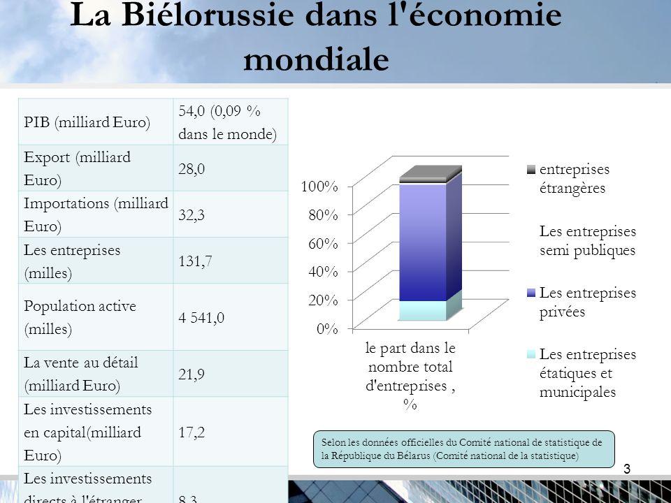 4 Les relations d investissement externes Les investissements étrangers, milliards d euros, 2013.