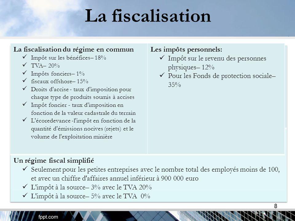 La fiscalisation 9