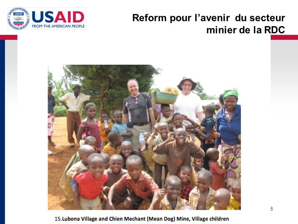 Reform pour l'avenir du secteur minier de la RDC 18