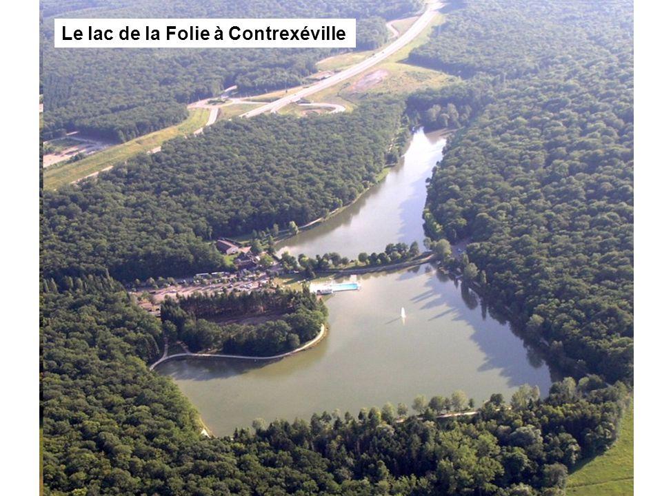 Le lac de la Folie à Contrexéville