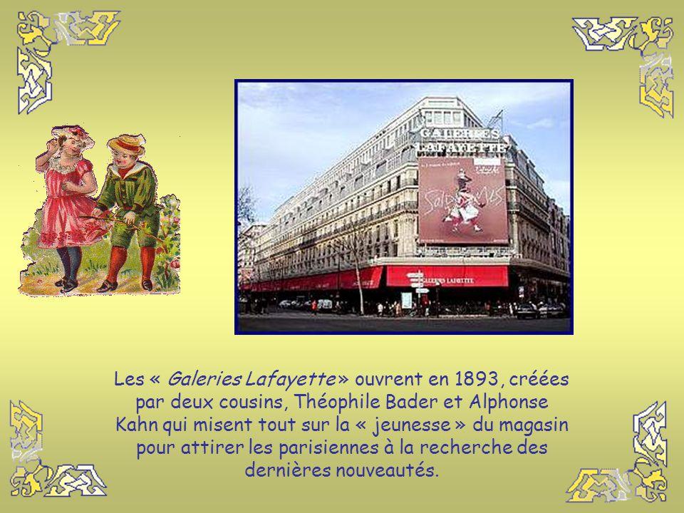 Le « Bazar de l'Hôtel de Ville » est créé en 1856 par Xavier Ruel, un ancien colporteur comme Aristide Boucicaut. Il est situé à quelques pas de l'Hôt