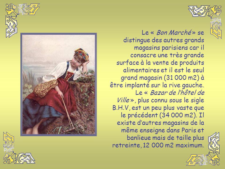 C'est Aristide Boucicaut, le fondateur du « Bon marché » qui a appliqué des idées entièrement nouvelles dans le Commerce, à une époque où : - On ne po