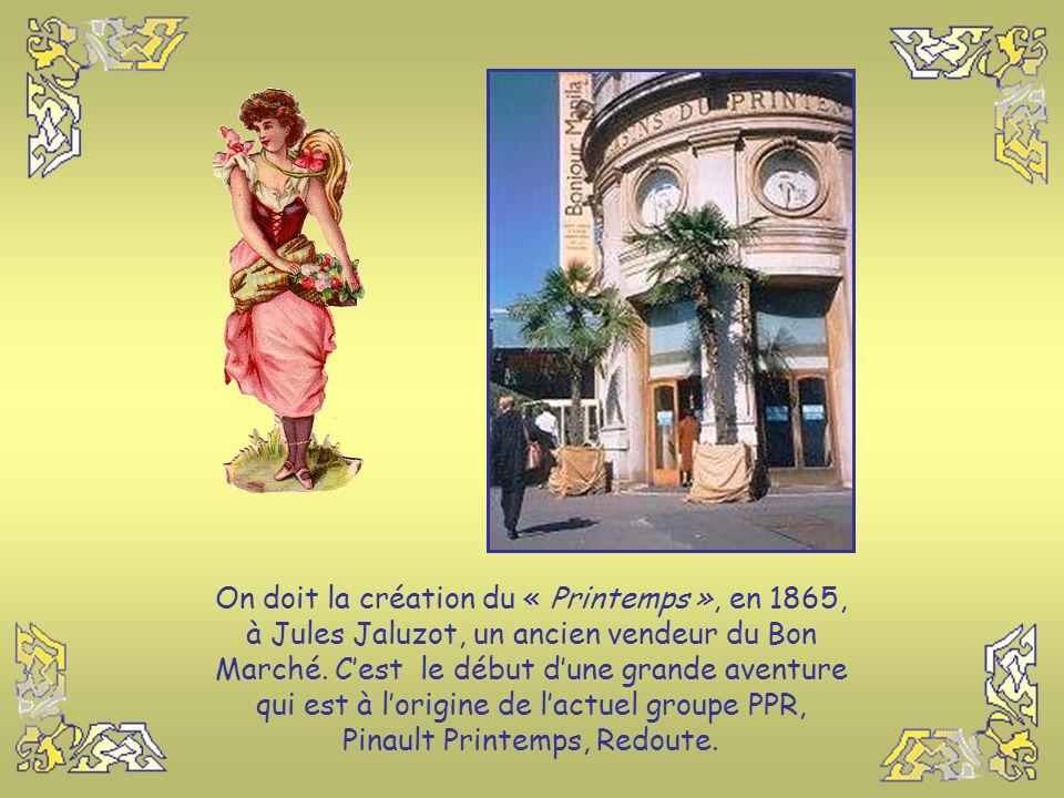Le « Bon Marché » se distingue des autres grands magasins parisiens car il consacre une très grande surface à la vente de produits alimentaires et il