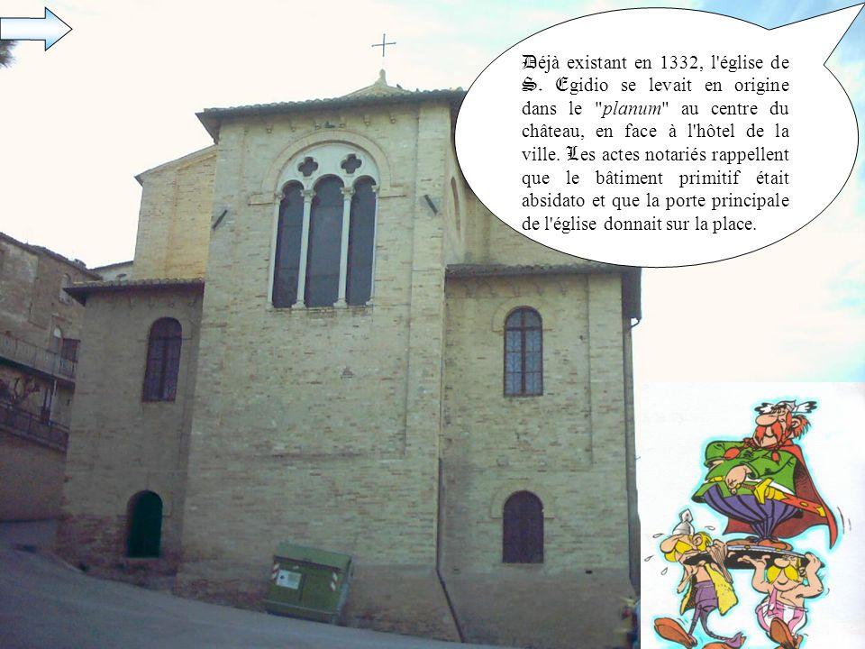 D éjà existant en 1332, l église de S.