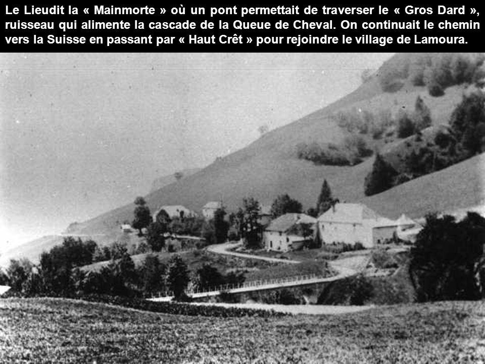 L'entrée du village de « Chaumont »