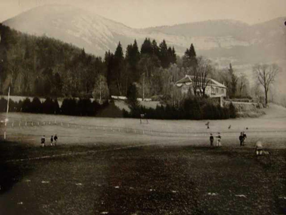 Le quartier de « Serger » avant la construction du stade.
