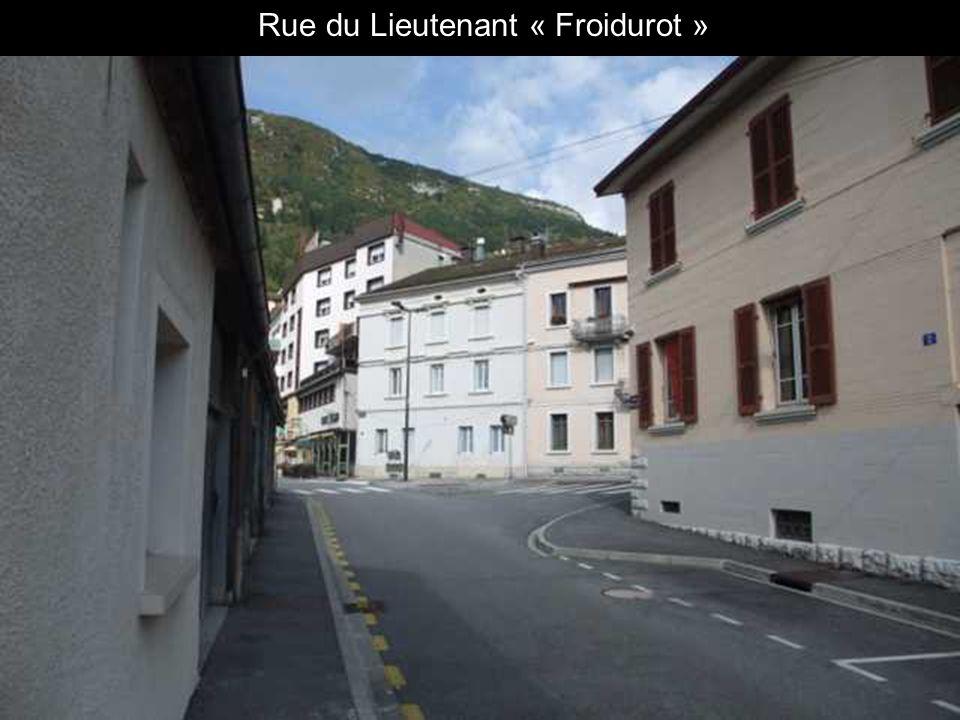 Fernand MICHALET ancien Maire vivait ici.