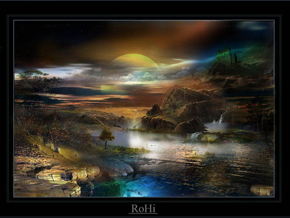 Tu te berces doucement Dans la rivière de la vie,Tu avances lentement.Vers un futur non prédit,