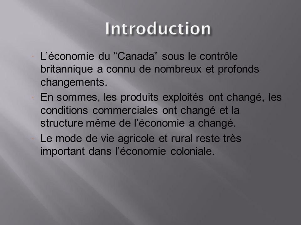  Quatre sous-périodes peuvent être identifiées pour décrire ces changements: 1.