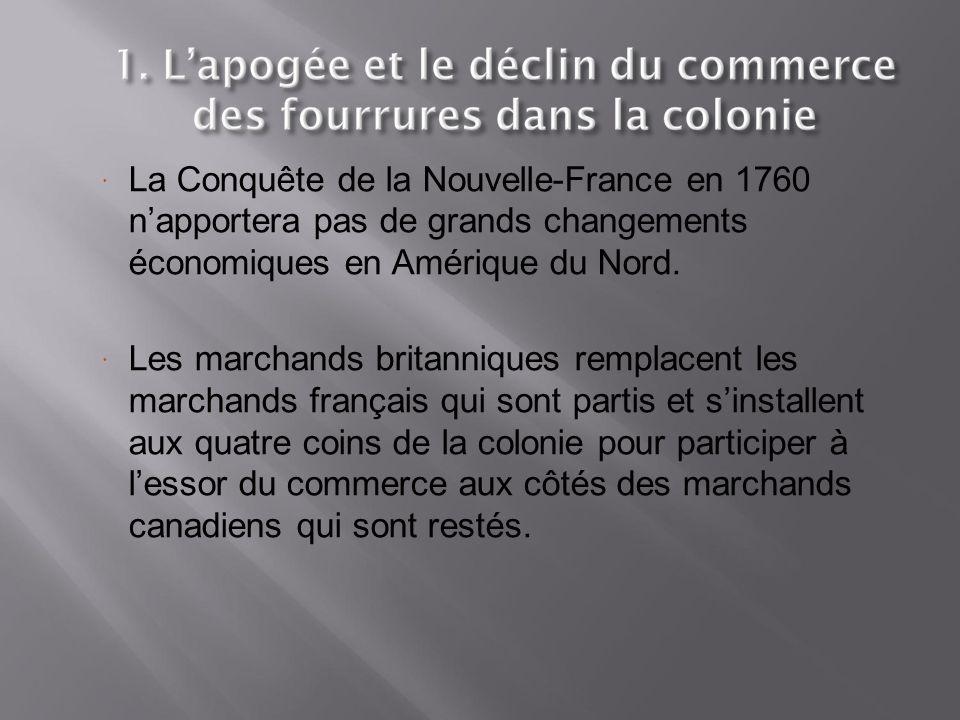  De 1760 à 1840, la Grande Bretagne applique une politique mercantiliste semblable à celle de la France.