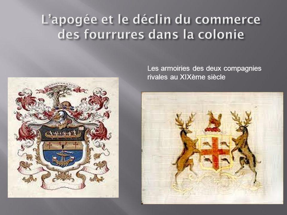  L'économie de la colonie britannique a fortement changé entre 1760 et 1867.