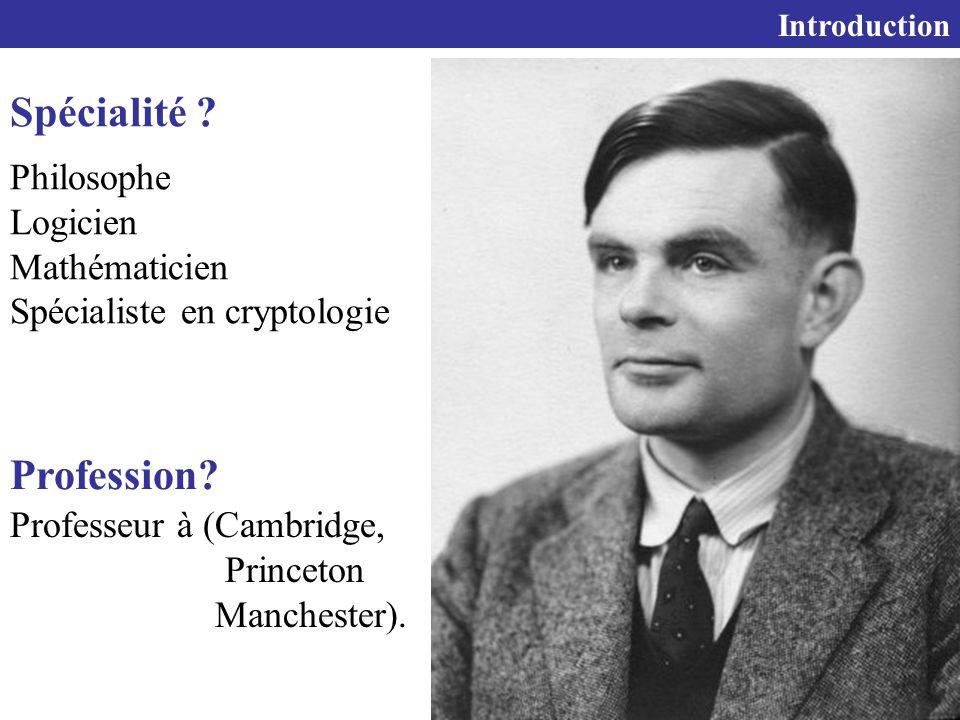 6 Introduction Spécialité .
