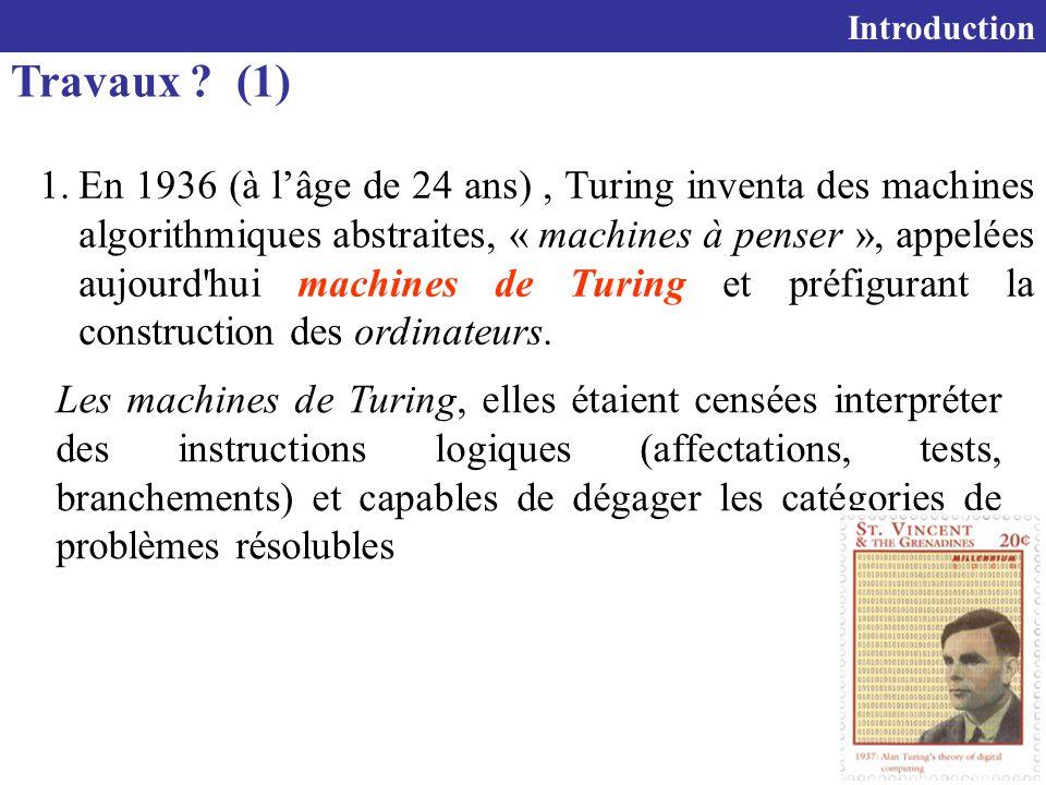 7 Travaux .