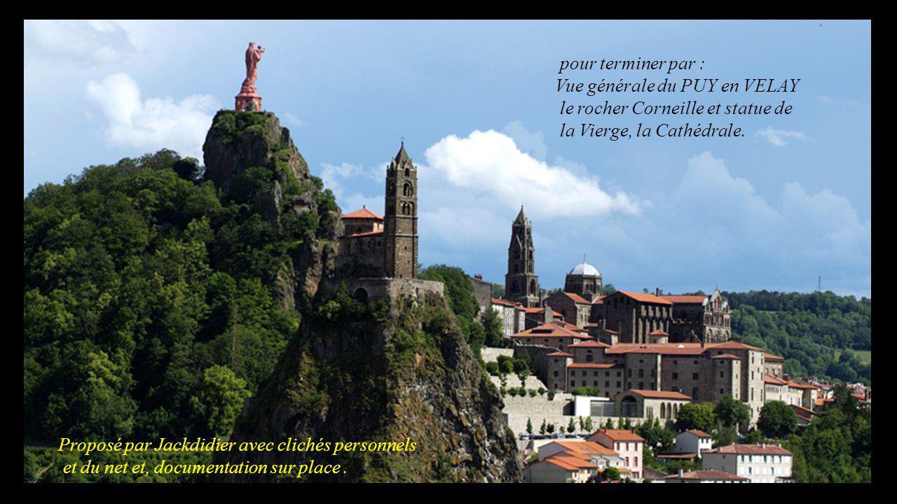 Cliché JDD façade du rocher d' Aiguilhe