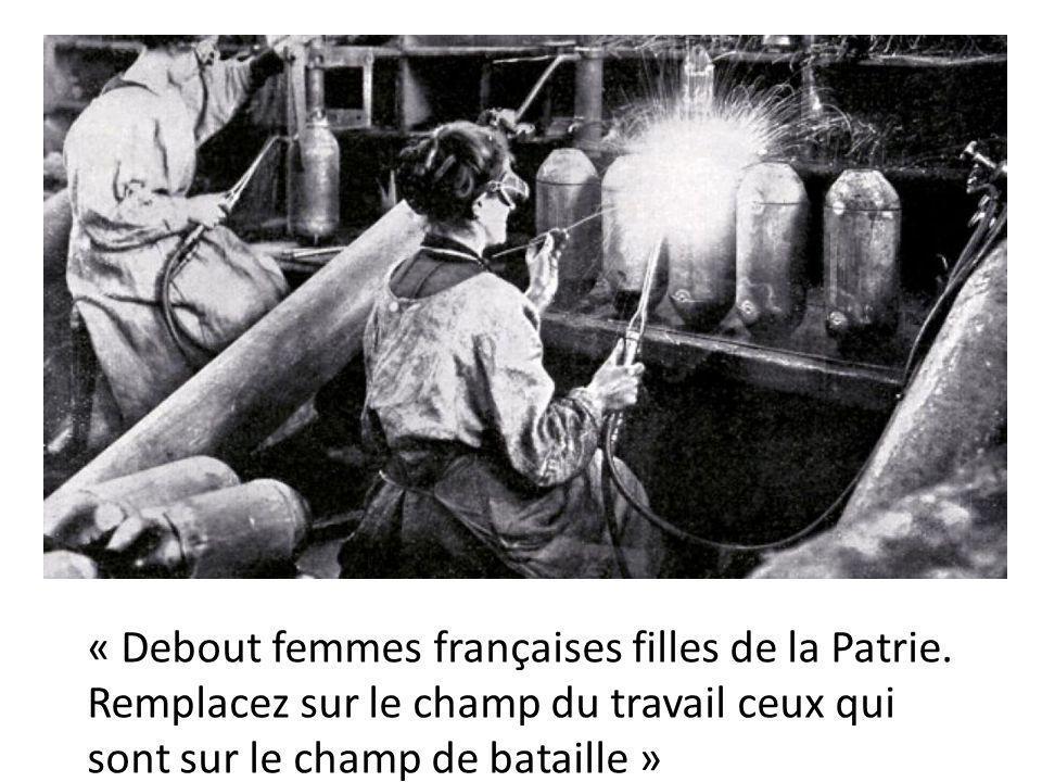 Femmes au travail dans l'armement