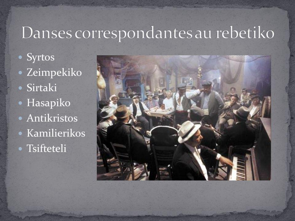 Syrtos Zeimpekiko Sirtaki Hasapiko Antikristos Kamilierikos Tsifteteli