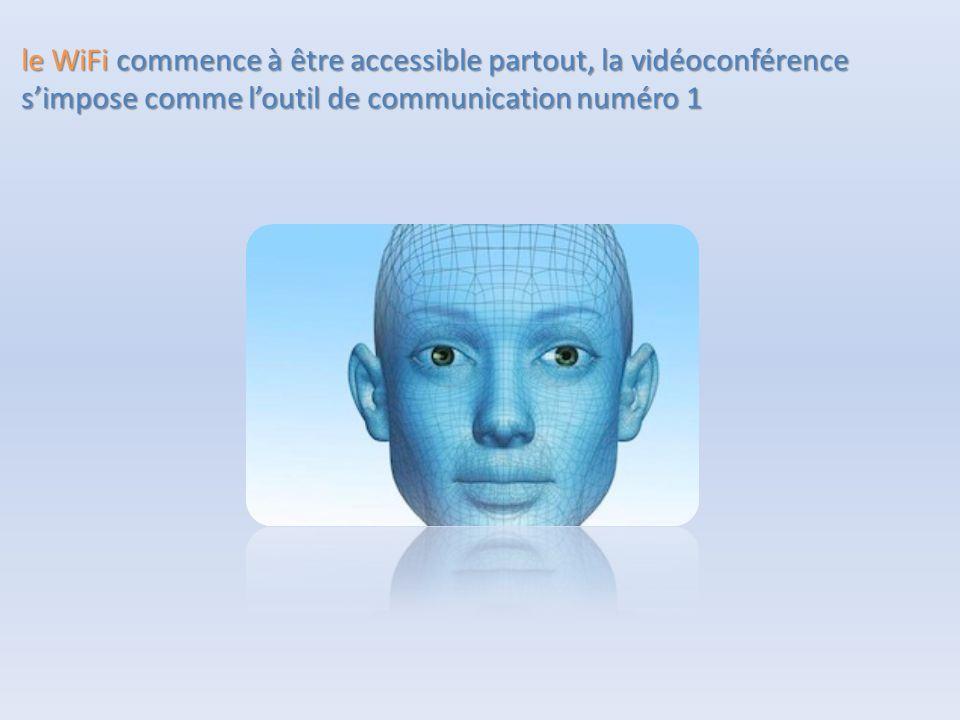 le WiFi commence à être accessible partout, la vidéoconférence s'impose comme l'outil de communication numéro 1