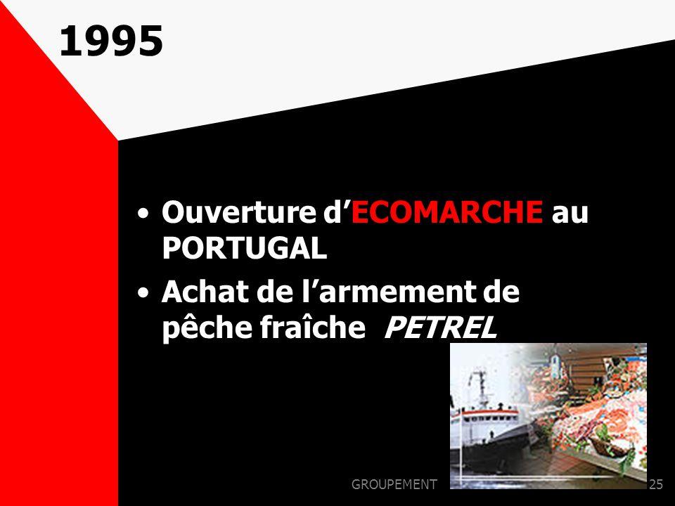 GROUPEMENT24 1994 OUVERTURE DE LA 1ère BASE AU PORTUGAL (ALCANENA)