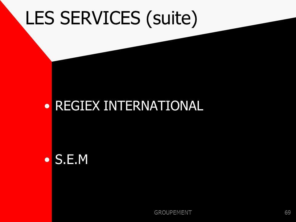 GROUPEMENT68 LES SERVICES D'ITM REGIONS et DC ITM SERVICE VIDEO, Multimédia, DCI, RI, Rédaction, Édition, Événementiel