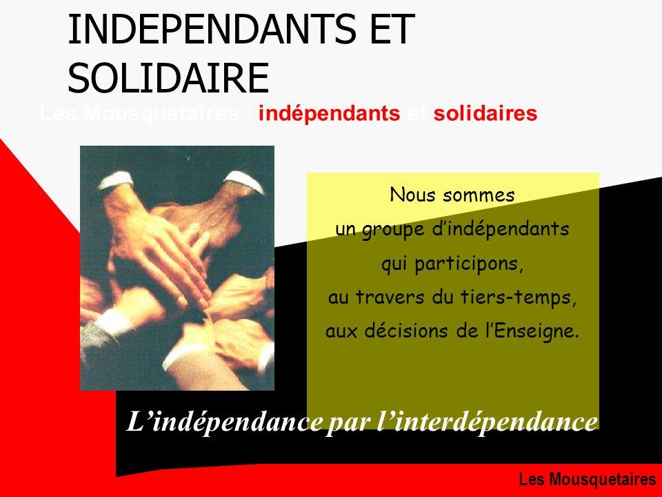 GROUPEMENT8 LE TIERS TEMPS LA CLEF DE VOUTE DU GROUPEMENT