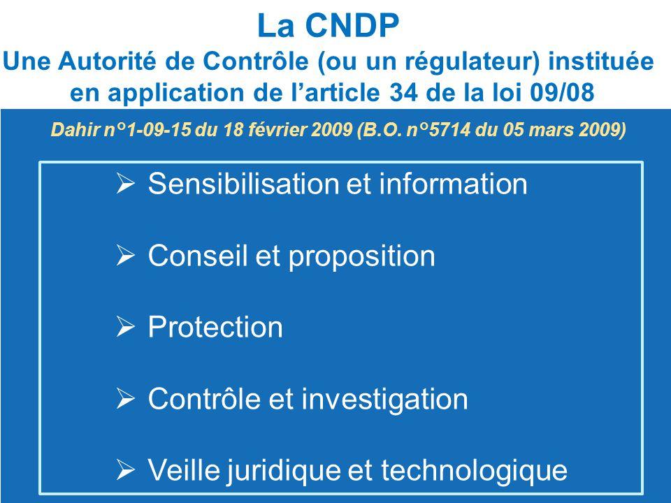  Sensibilisation et information Sensibilisation et information  Conseil et proposition Conseil et proposition  Protection Protection  Contrôle et