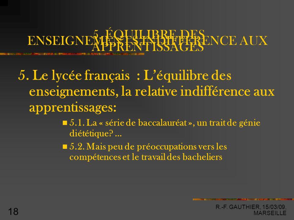 R.-F. GAUTHIER, 15/03/09, MARSEILLE 18 5.