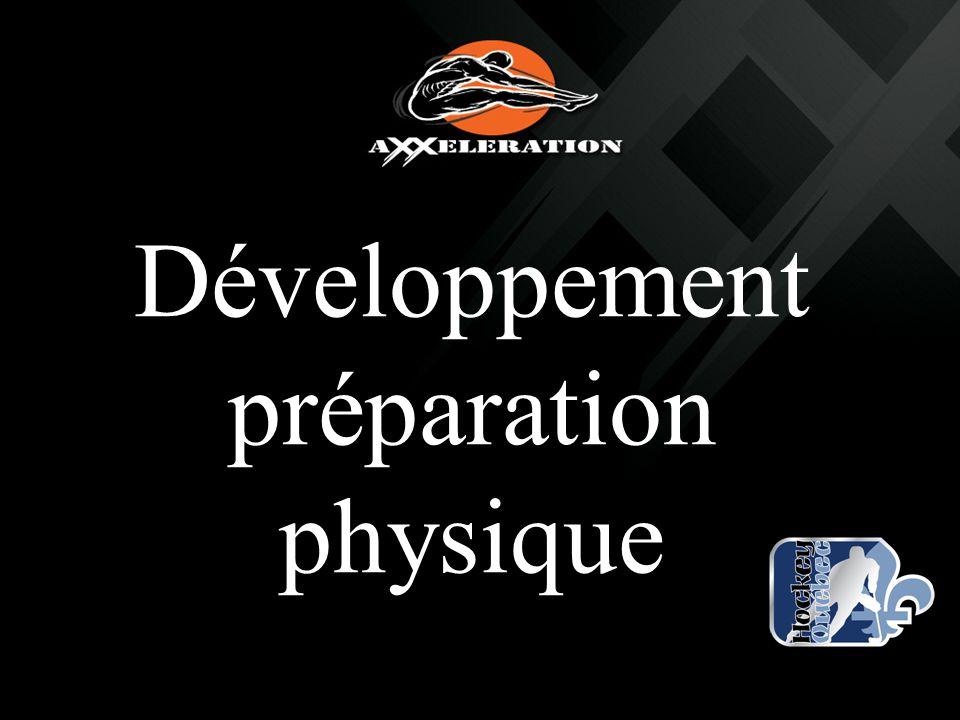 Développement préparation physique