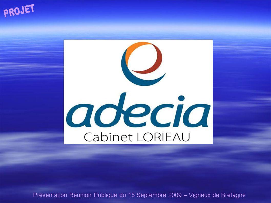 Présentation Réunion Publique du 15 Septembre 2009 – Vigneux de Bretagne