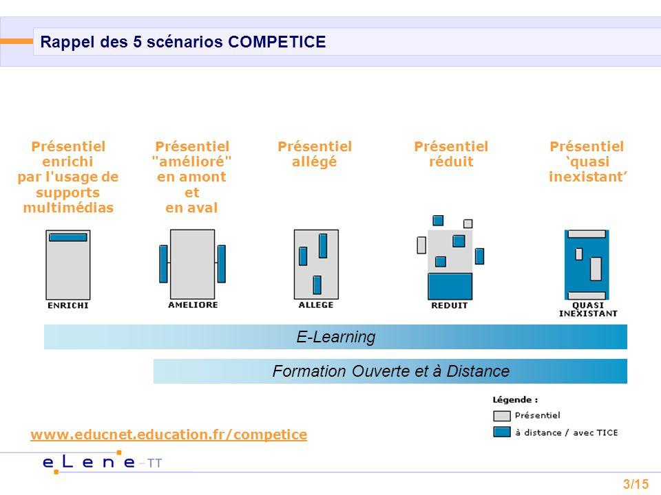 4/15 Quelques principes de scénarisation  Définition « la scénarisation d'un cours consiste à :  définir les objectifs pédagogiques,  organiser la diffusion du savoir,  construire des activités d'apprentissage,  élaborer le suivi de l'apprenant,  définir les modalités d'évaluation et de contrôle des acquis.