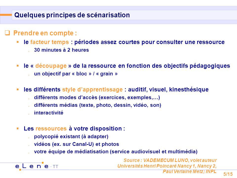 6/15 Différents scénarios possibles AB C non-linéaire accès linéaire A B C à entrées multiples