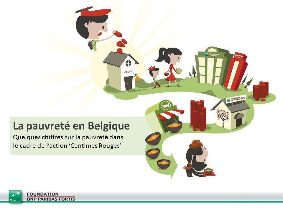 La pauvreté en Belgique Quelques chiffres sur la pauvreté dans le cadre de l'action 'Centimes Rouges'