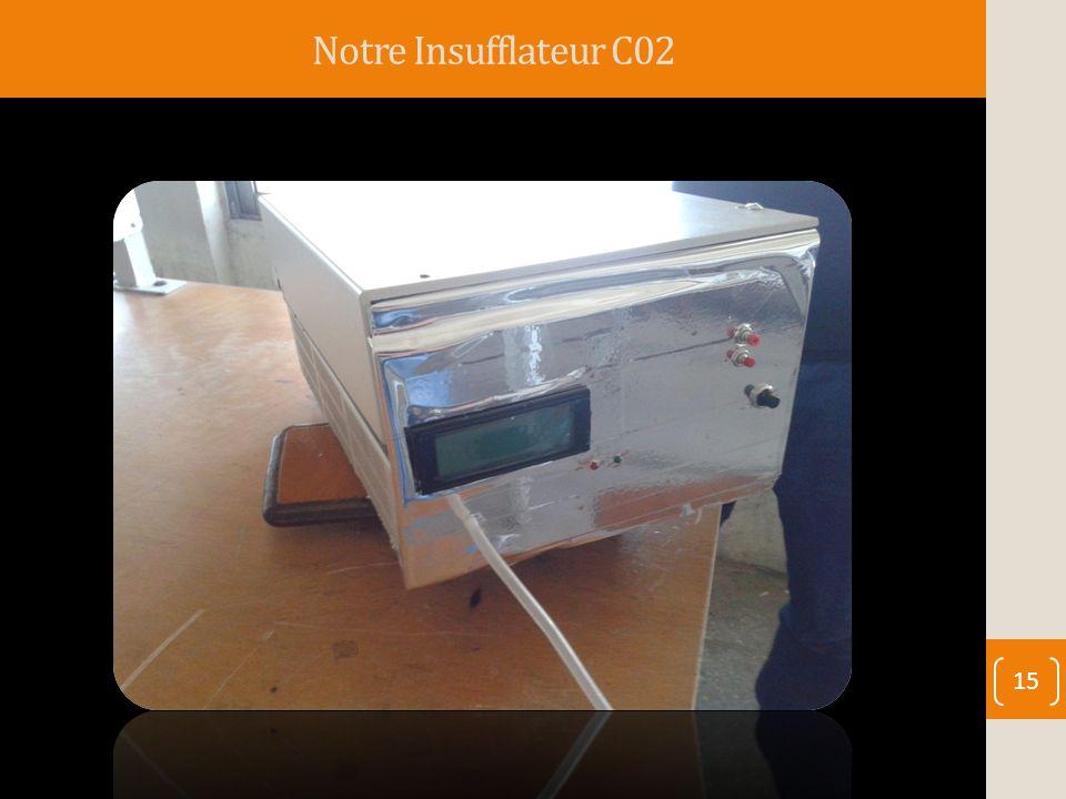 Notre Insufflateur C02 15