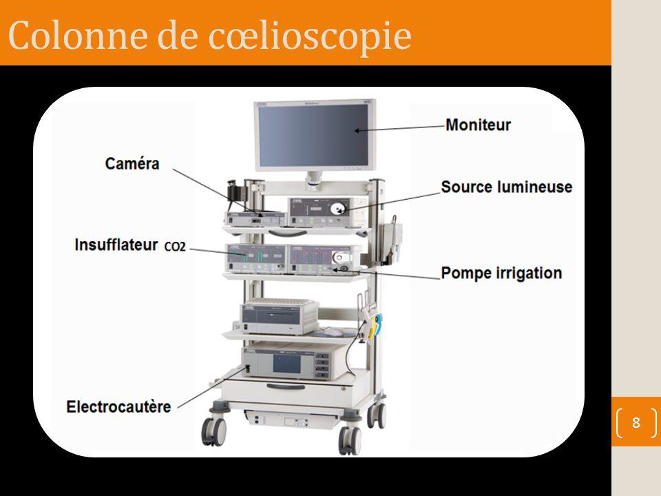 Colonne de cœlioscopie 8