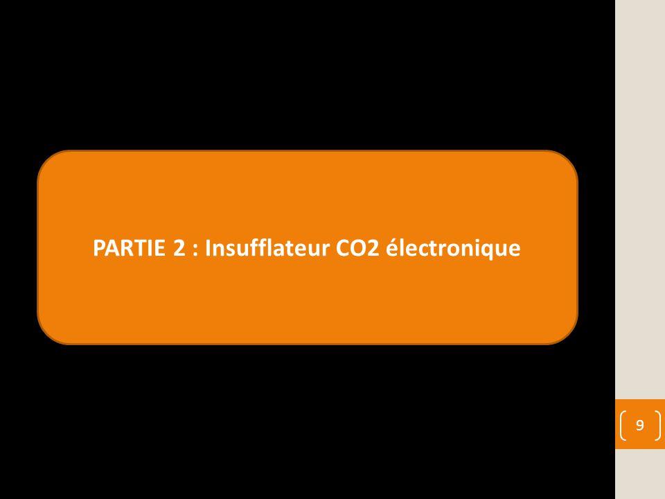 PARTIE 2 : Insufflateur CO2 électronique 9