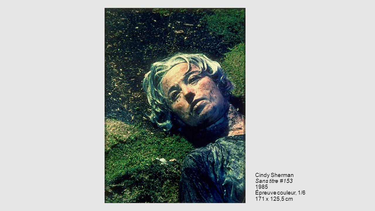 Cindy Sherman Sans titre #153 1985 Épreuve couleur, 1/6 171 x 125,5 cm