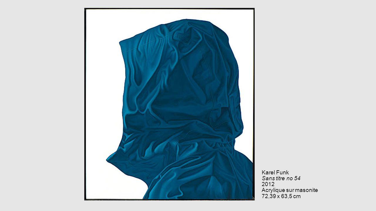 Karel Funk Sans titre no 54 2012 Acrylique sur masonite 72,39 x 63,5 cm