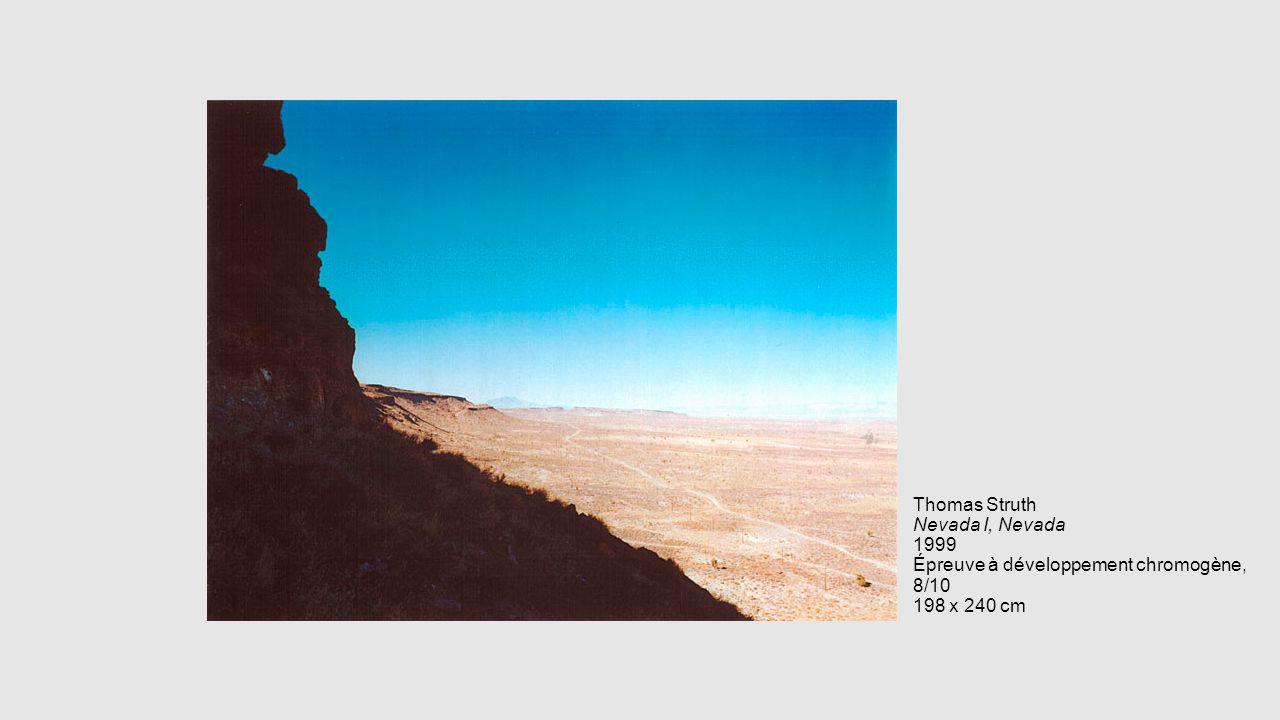Thomas Struth Nevada I, Nevada 1999 Épreuve à développement chromogène, 8/10 198 x 240 cm