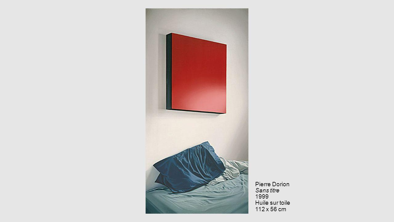 Pierre Dorion Sans titre 1999 Huile sur toile 112 x 56 cm