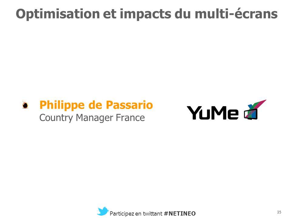 34 Participez en twittant #NETINEO PAUSE CCIP – Bourse du Commerce Paris, le 22 novembre 2012